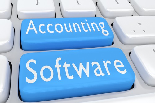 photo of buttons for Accounting Software
