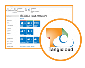 Image showing fund accounting by Tangicloud and powered by Microsoft Dynamics 365